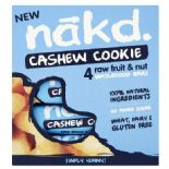 Nakd Cashew Cookie Bars x 4 pack 140g